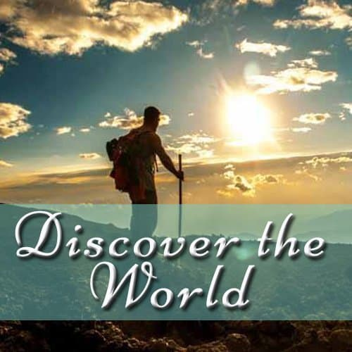 Go and discover the world