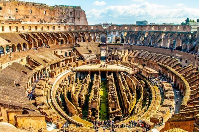 The Colosseum Underground Tour Let S You Follow In The