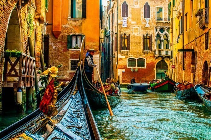 Image result for venetian gondoliers