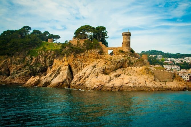 Tossa de Mar Catalonia Spain