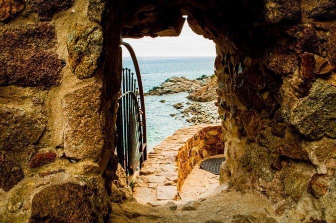 Tossa de Mar Costa Brava Spain