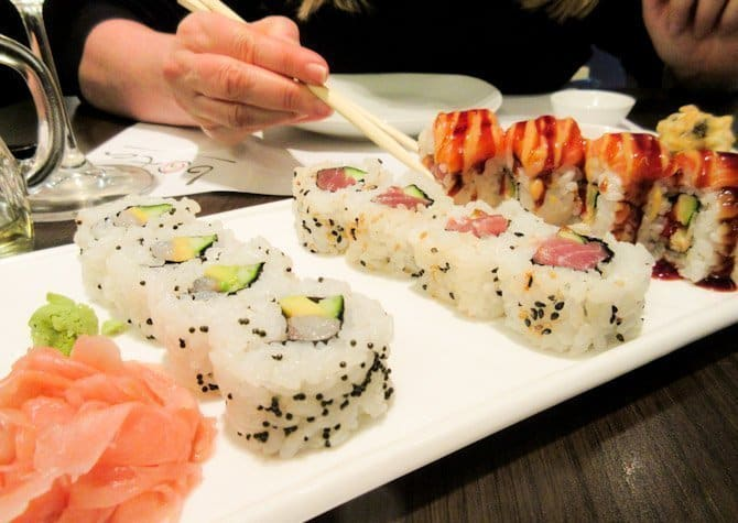 sushi in Split Croatia