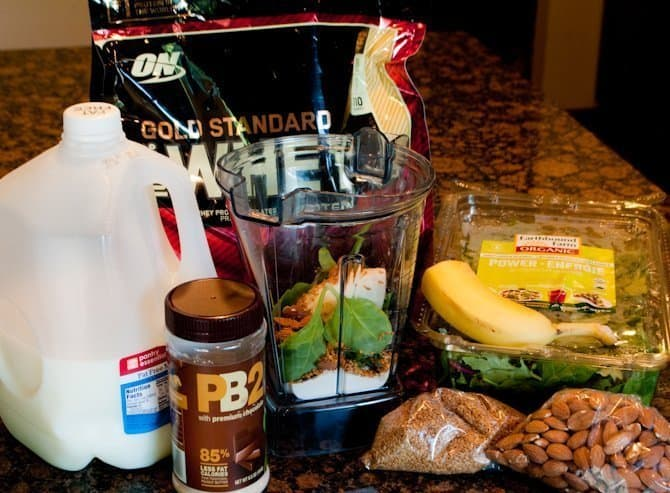 Choconutty Protein Smoothie