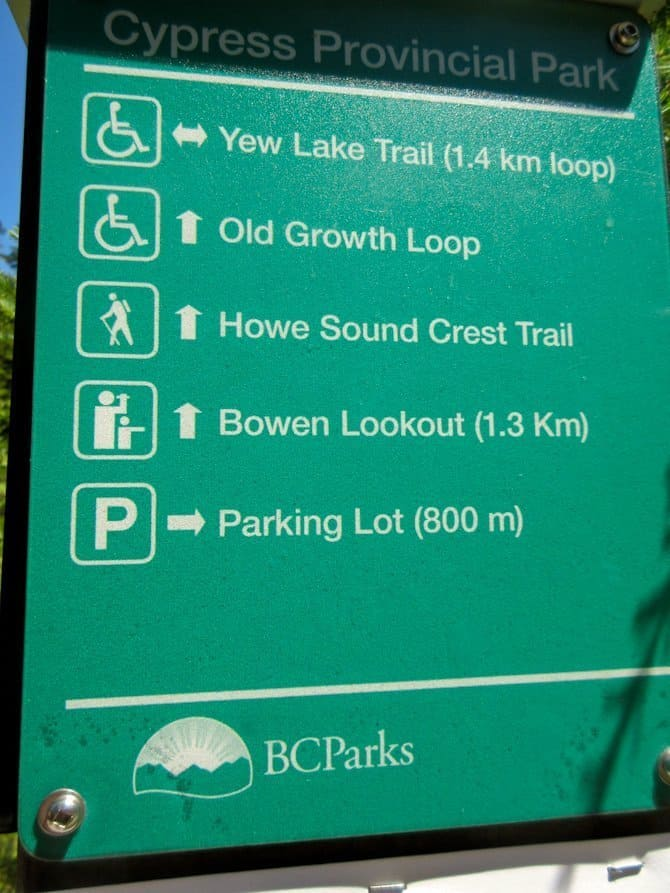 Cypress Mountain Trails, Vancouver