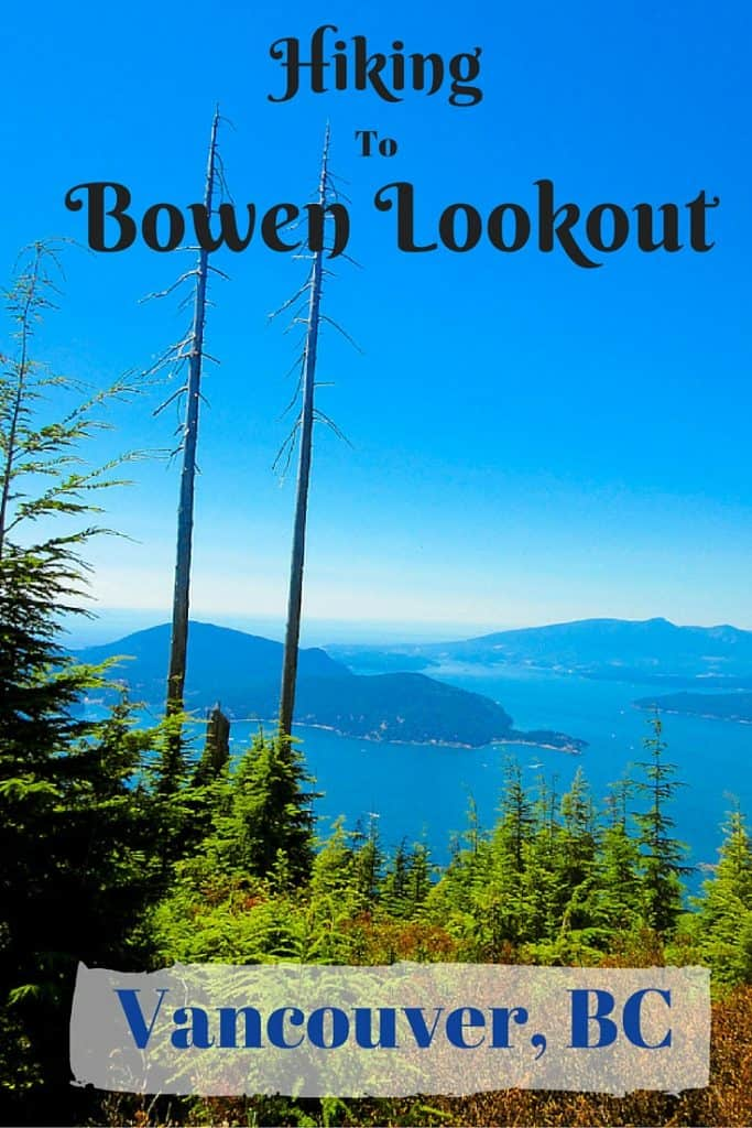 Hiking to Bowen Lookout