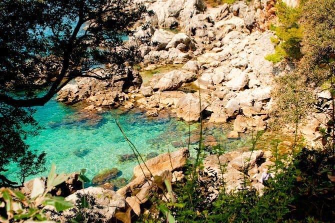 Lokrim island Dubrovnik