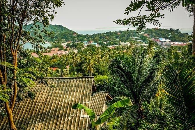 The Thai Island of Koh Phangan