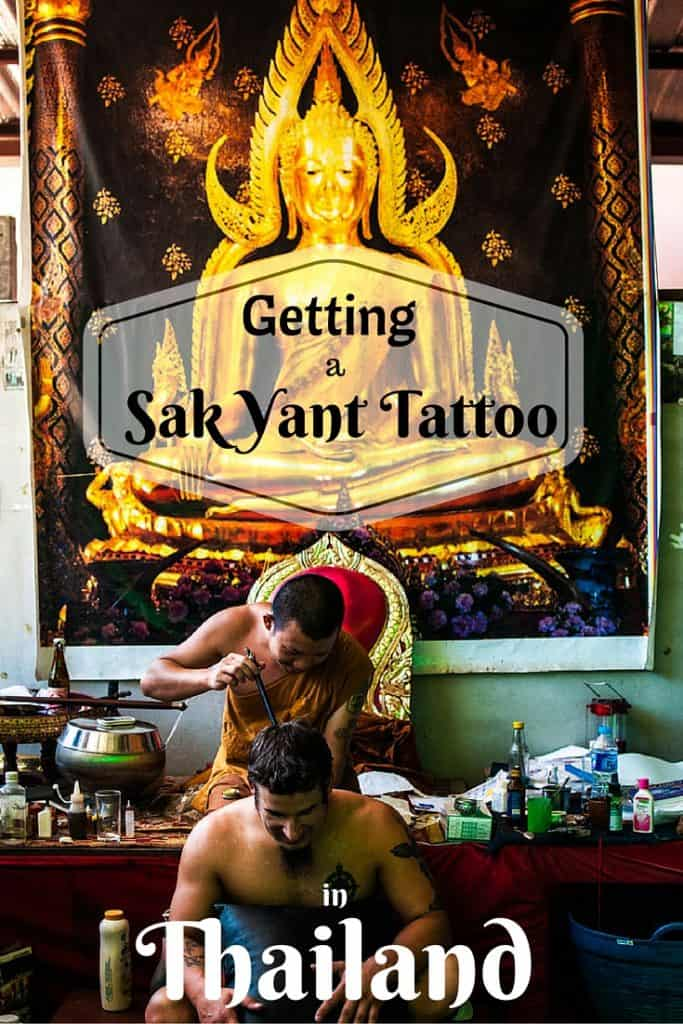 Getting A Sak Yant Bamboo Tattoo in Thailand