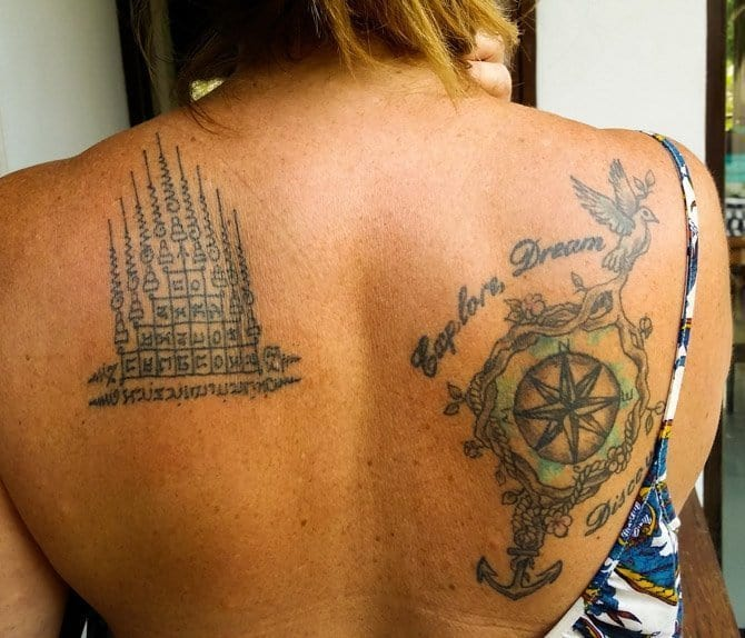 How to Get a Sak Yant Bamboo Tattoo in Thailand - Live Dream Discover