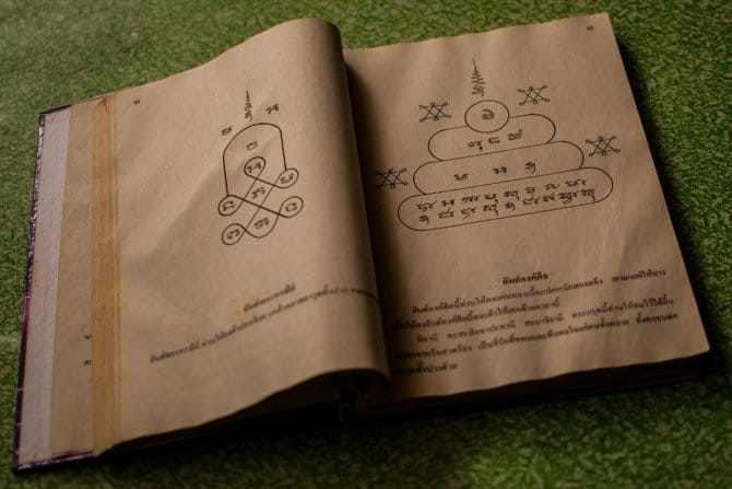 Book of Sak Yant Bamboo tattoo designs