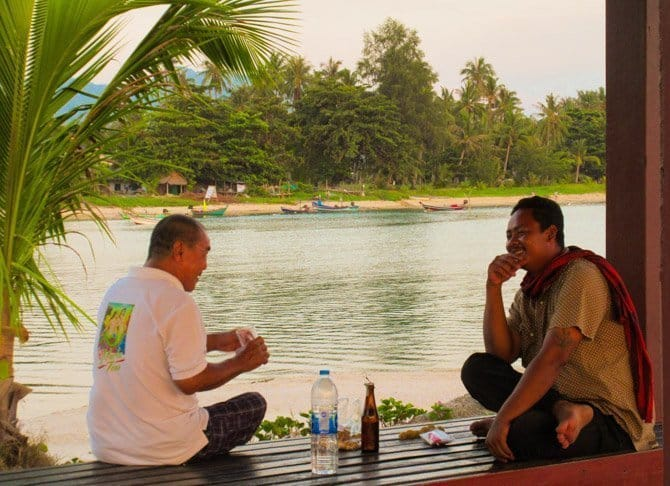 Thai Island of Koh Phangan