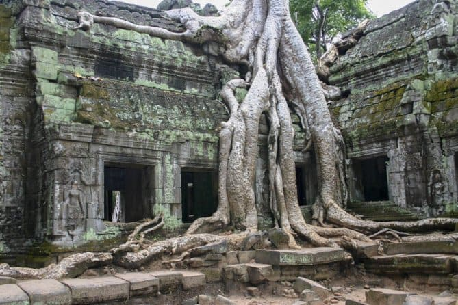 Where to go in Southeast Asia,Angkor Wat, Cambodia, Reflections Enroute