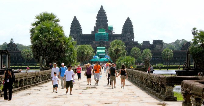 Where to go in southeast Asia, Angkor Wat Cambodia, Travel Dave