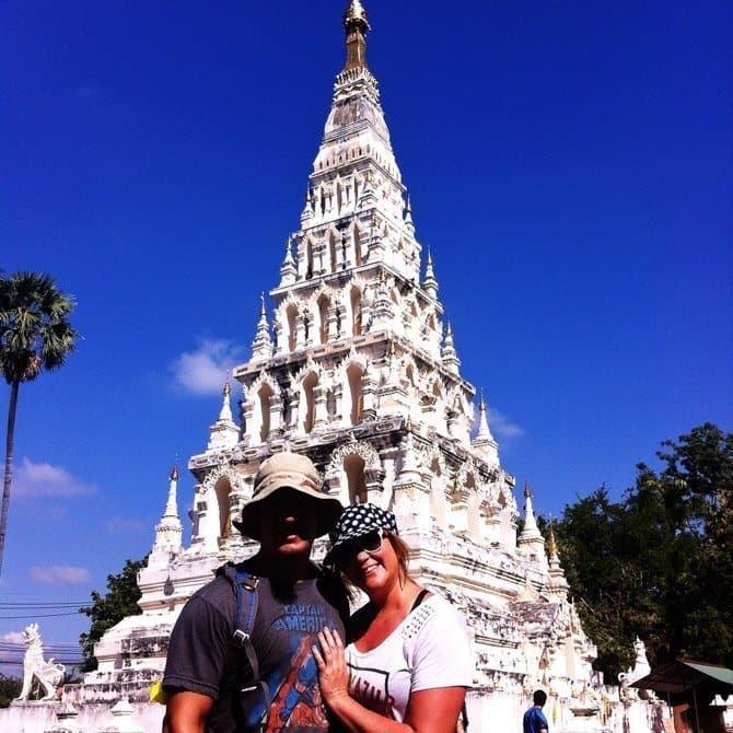 Buffalo Tours of Chiang Mai Chedi Liam