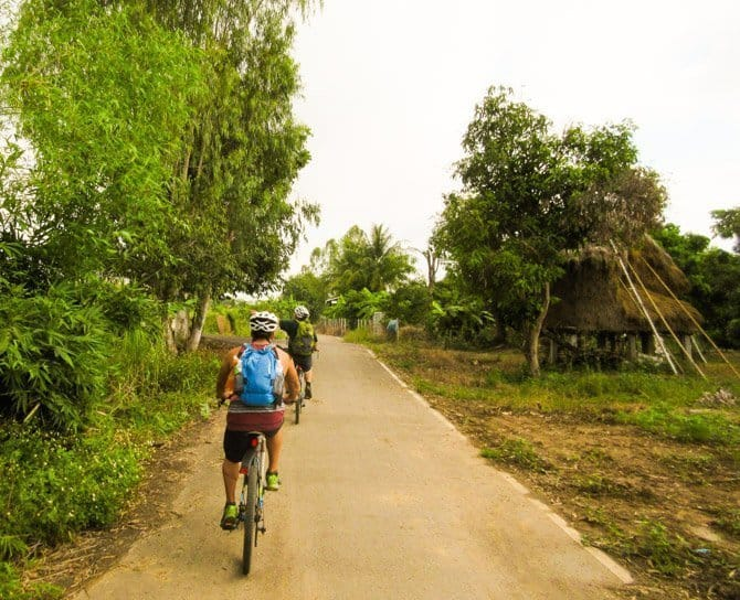 Buffalo Tour of Chiang Mai cycling