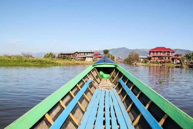 Inle Lake Myanmar courtesy of Great Big Globe