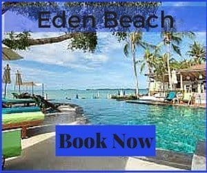 Best Koh Samui beach and things to do in Koh Samui Eden Beach