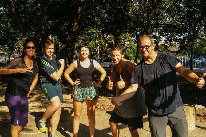 Chiang Mai workout gang