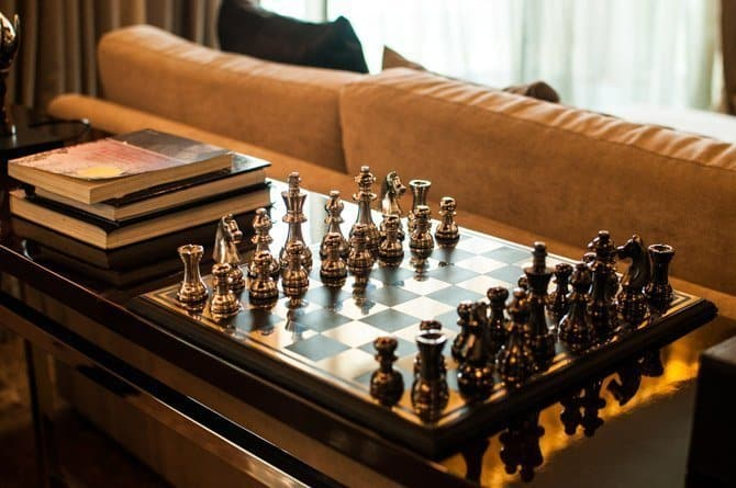 Chiang Mai Riverside Hotel chess board