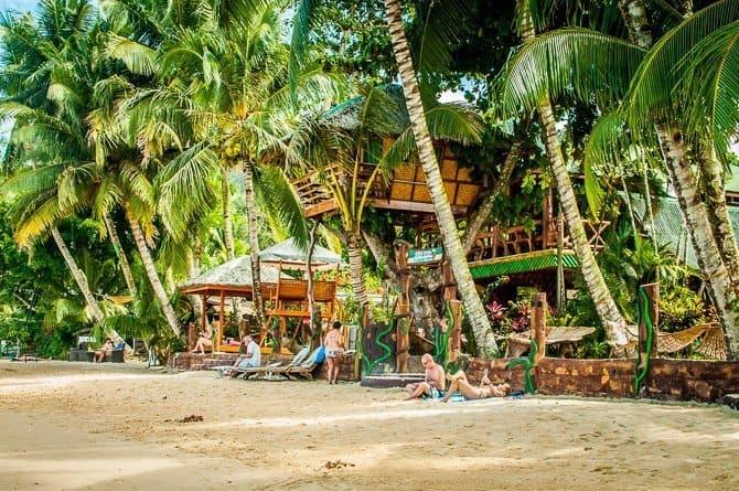 Ausan Beachfront Cottages Porton Barton Palawan Island Philippines
