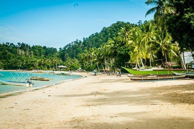 Port Barton Palawan Island Philippines