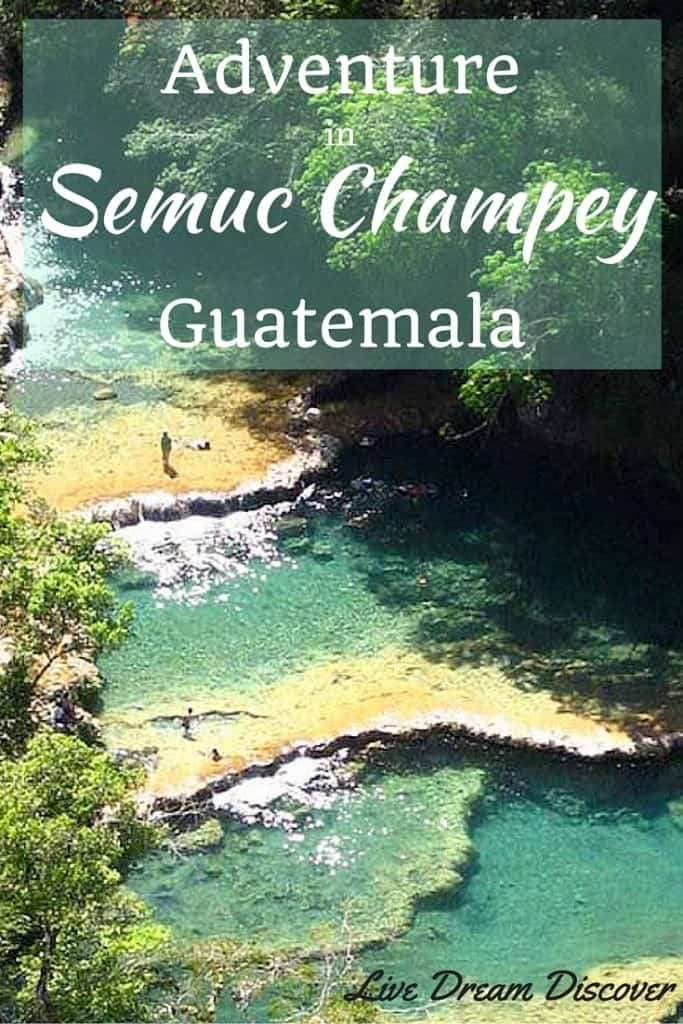 Adventure in Semuc Champey Guatemala