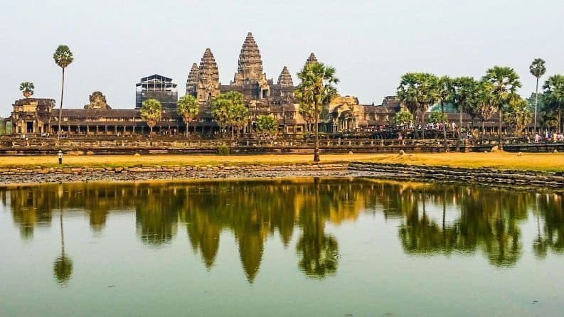 Ziplining in Angkor, Cambodia with Flight of the Gibbon