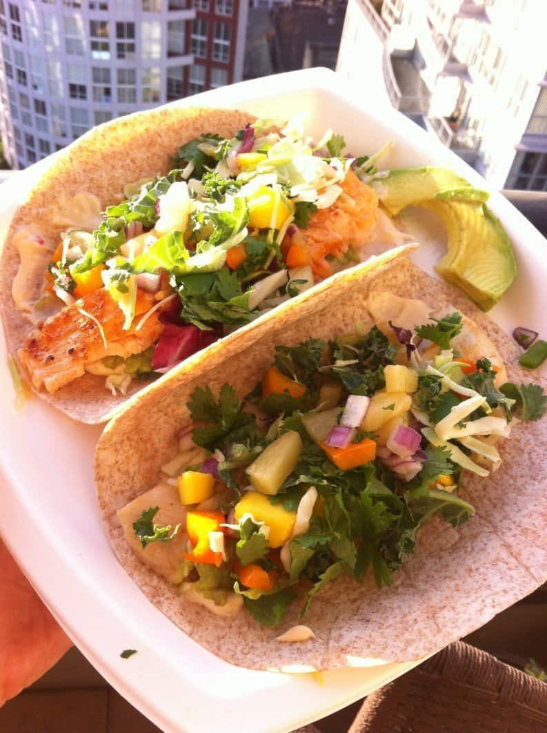 Healthy delicious and easy to make fish taco recipe for Fish taco recipe