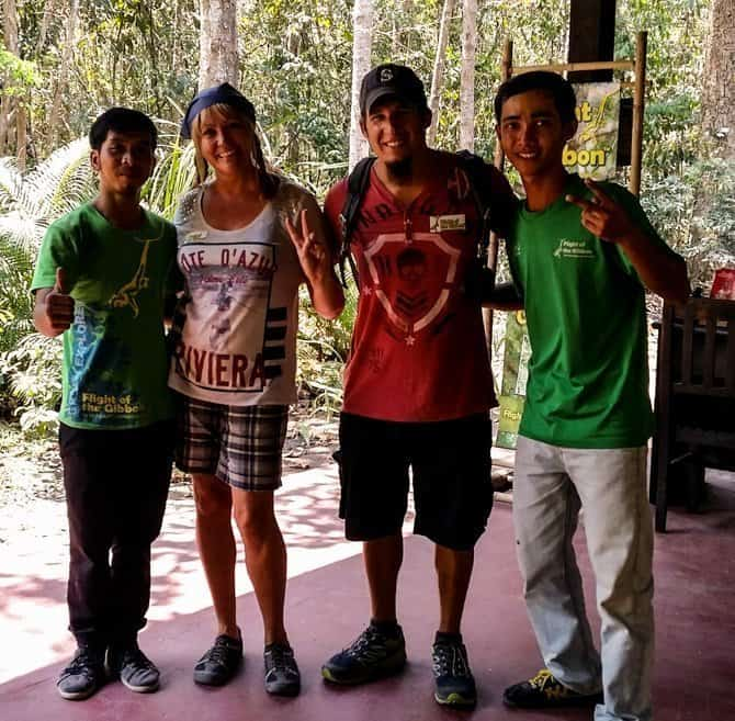 Flight of the Gibbon Ziplining in Asia