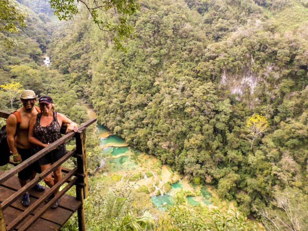 Mirador at Semuc Champey Guatemala