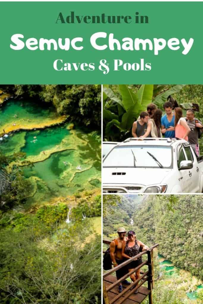Adventure in Semuc Champey Caves, Guatemala