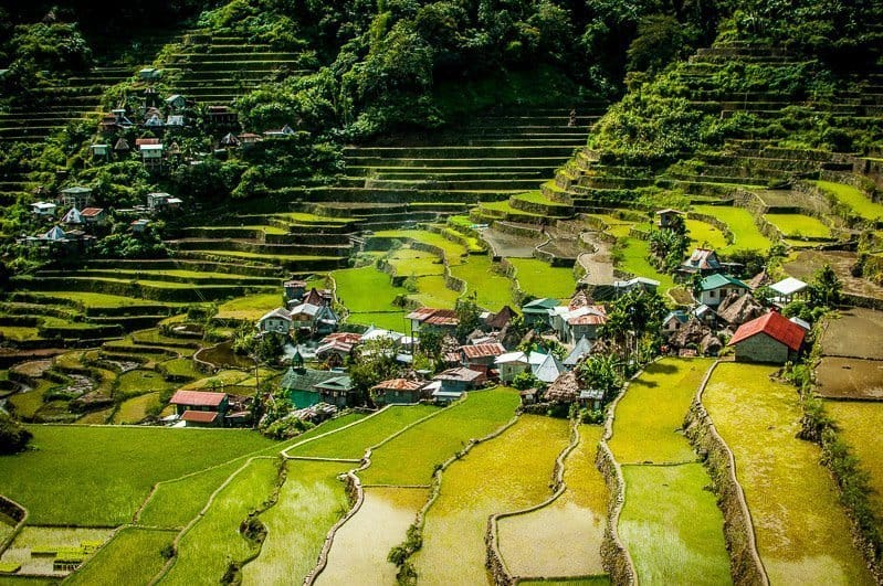 Best hiking in Asia Banaue Rice Terraces
