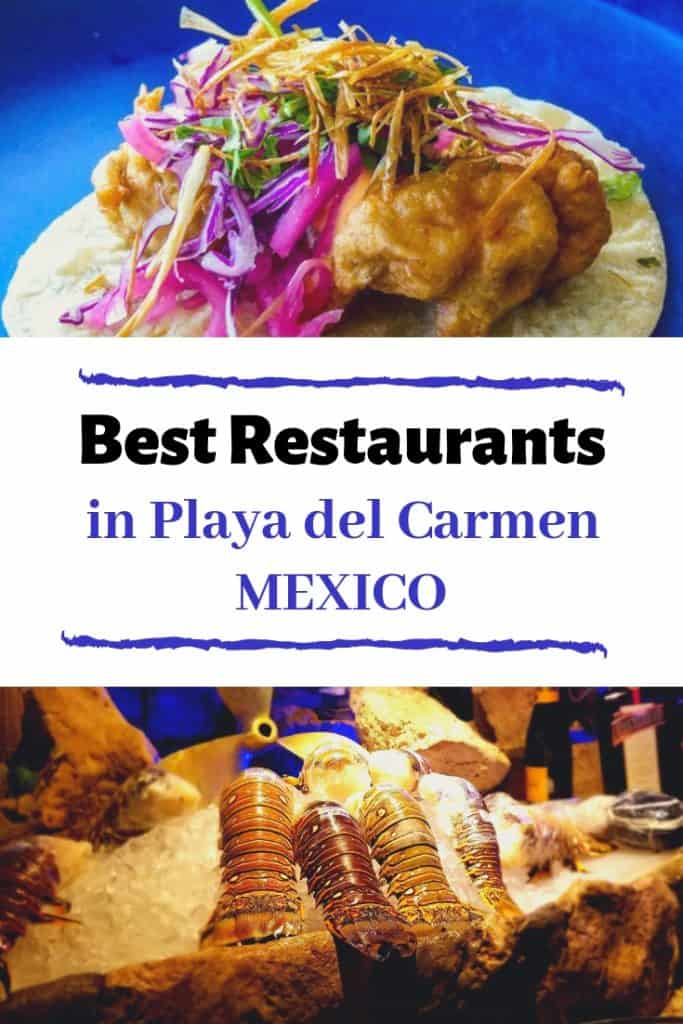 Best Restaurants Playa del Carmen