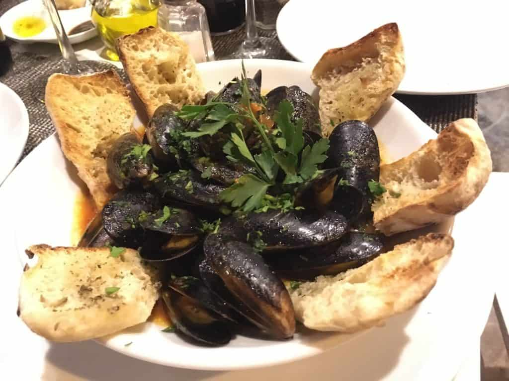 Best Restaurants playa del carmen mussels