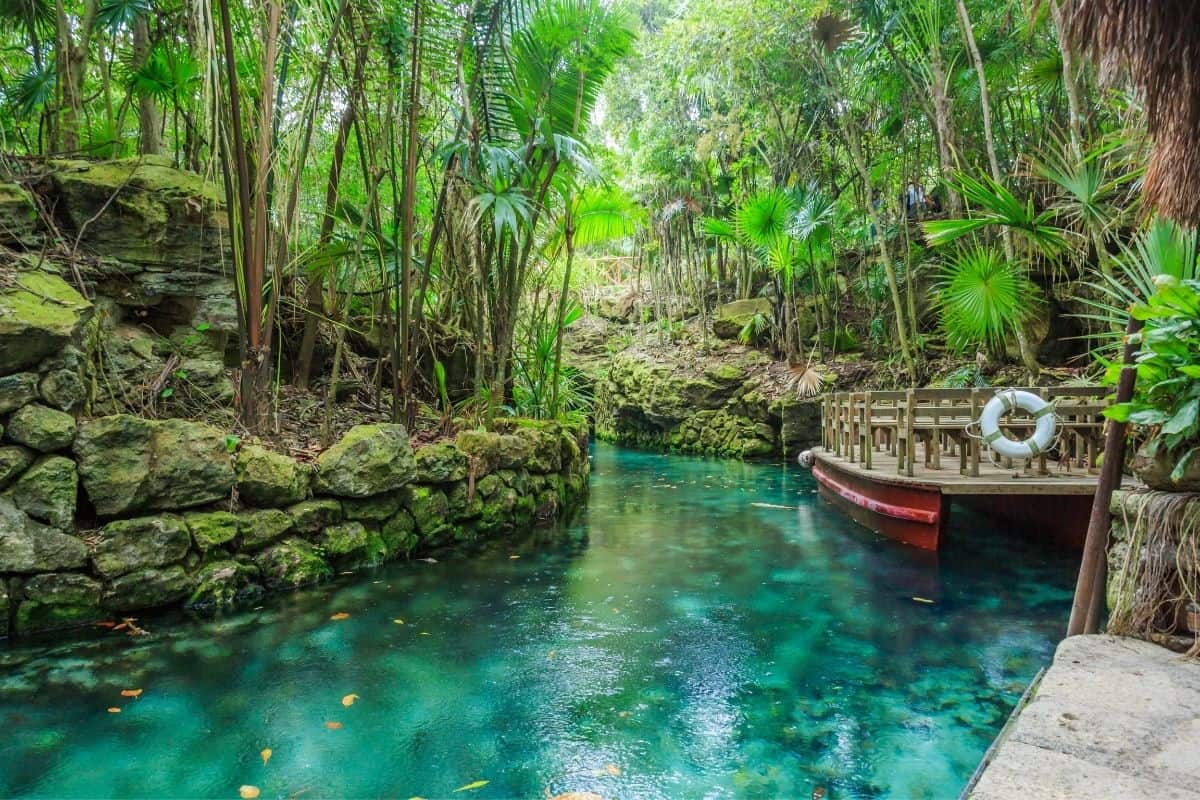 Water Activities at Xcaret Park Mexico