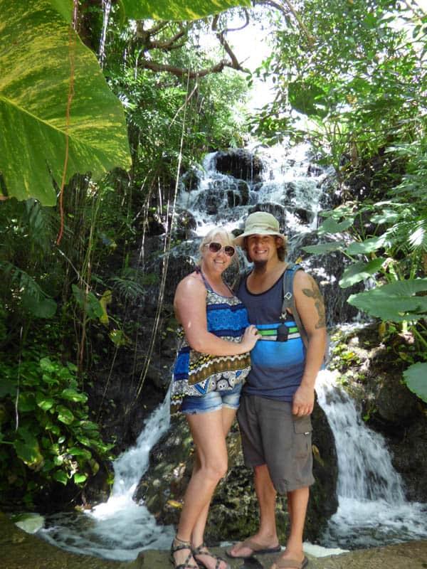 Xcaret Waterfall