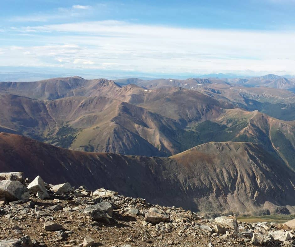 14ers best hiking trails in america