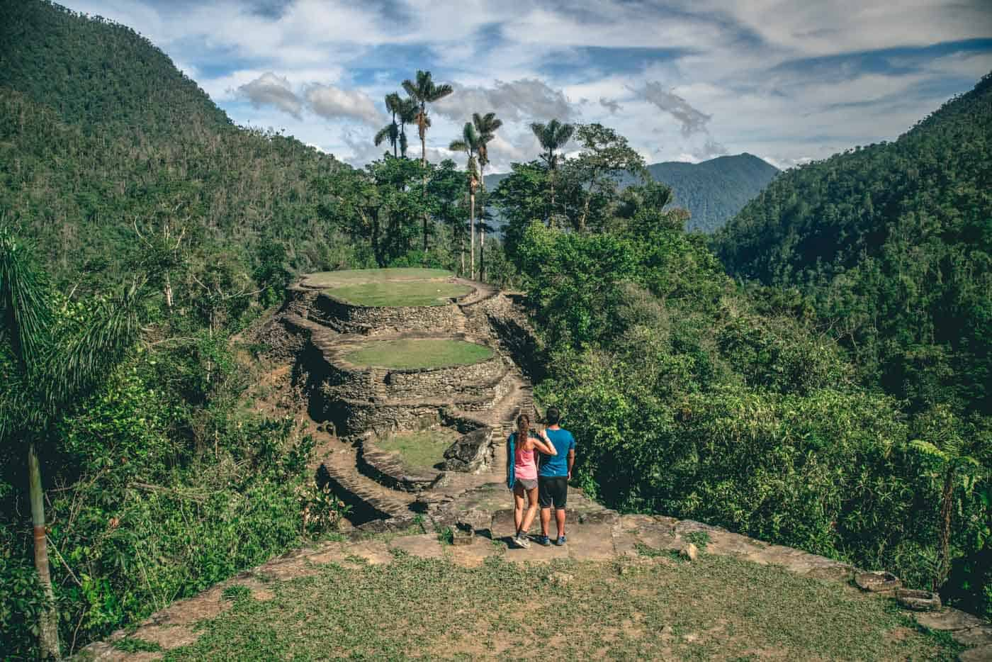 Colombia Lost City best hiking trails
