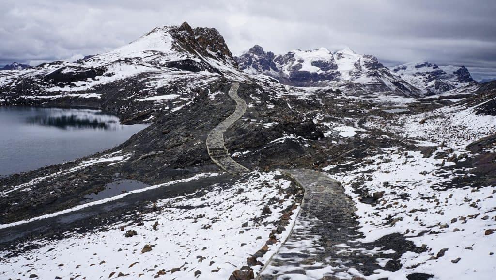 Pastouri Glacier best hiking trails