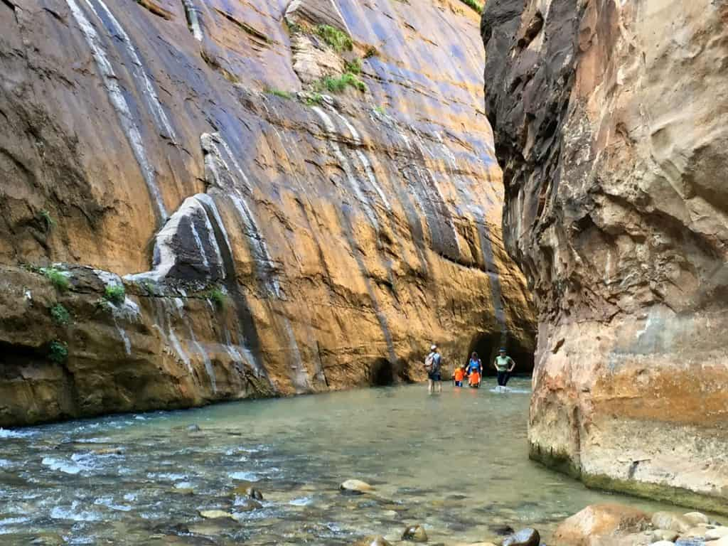 The Narrows best hiking trails