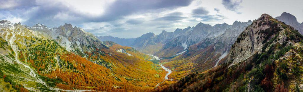 Best Hikes in Europe Albanian Alps