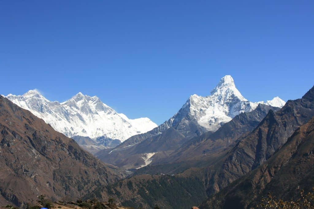 Best hiking in Asia Everest
