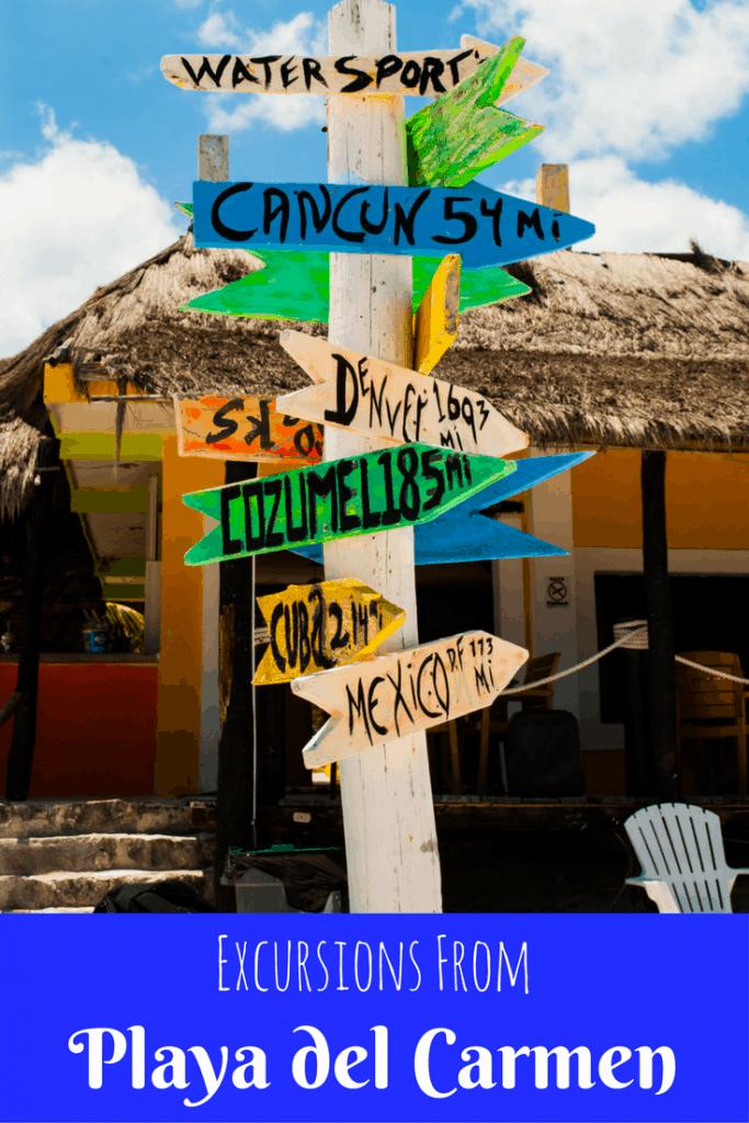 Day trips from Playa del Carmen