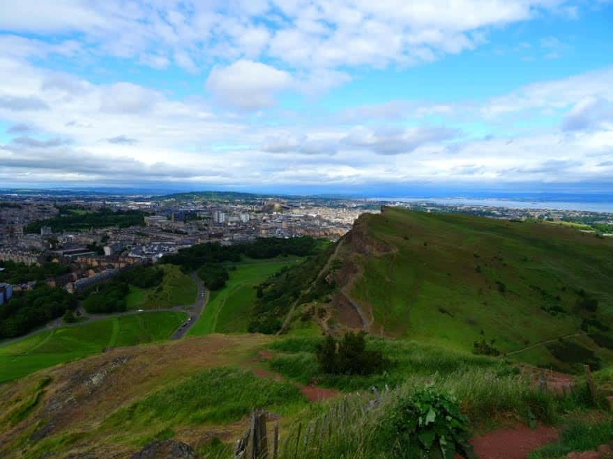 Best hikes in Europe Arthur's Seat, Edinburgh, Scotland