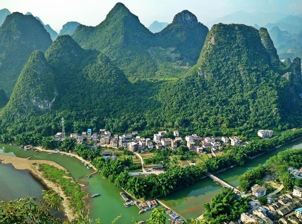 Best hiking in Asia Laozhai Mountain Peak Xingping