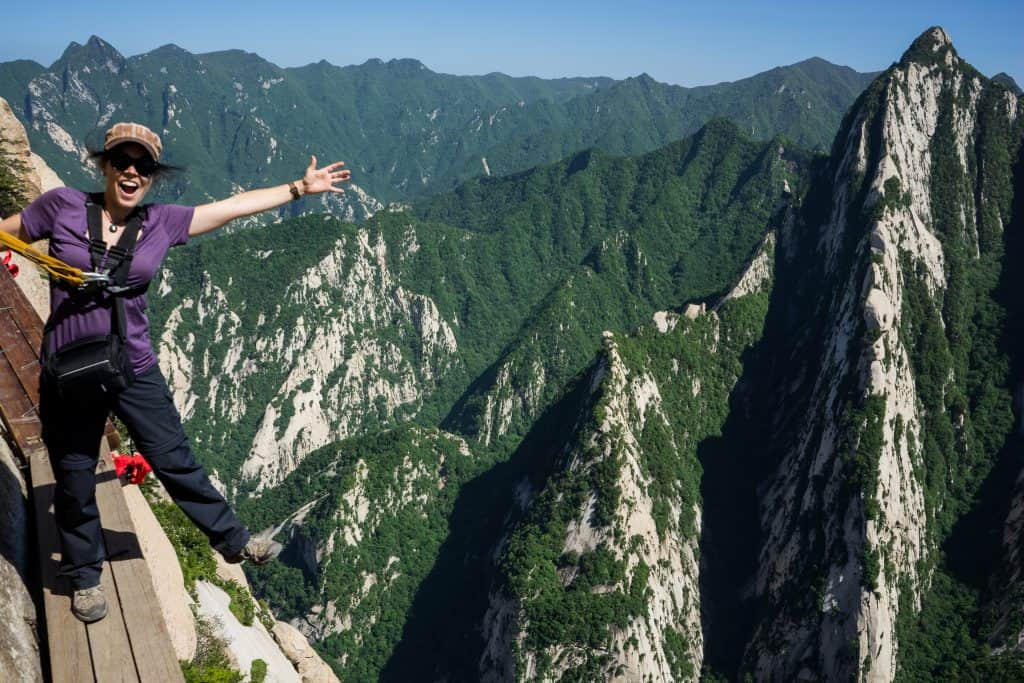 Best hiking in Asia Mount Huashan, China