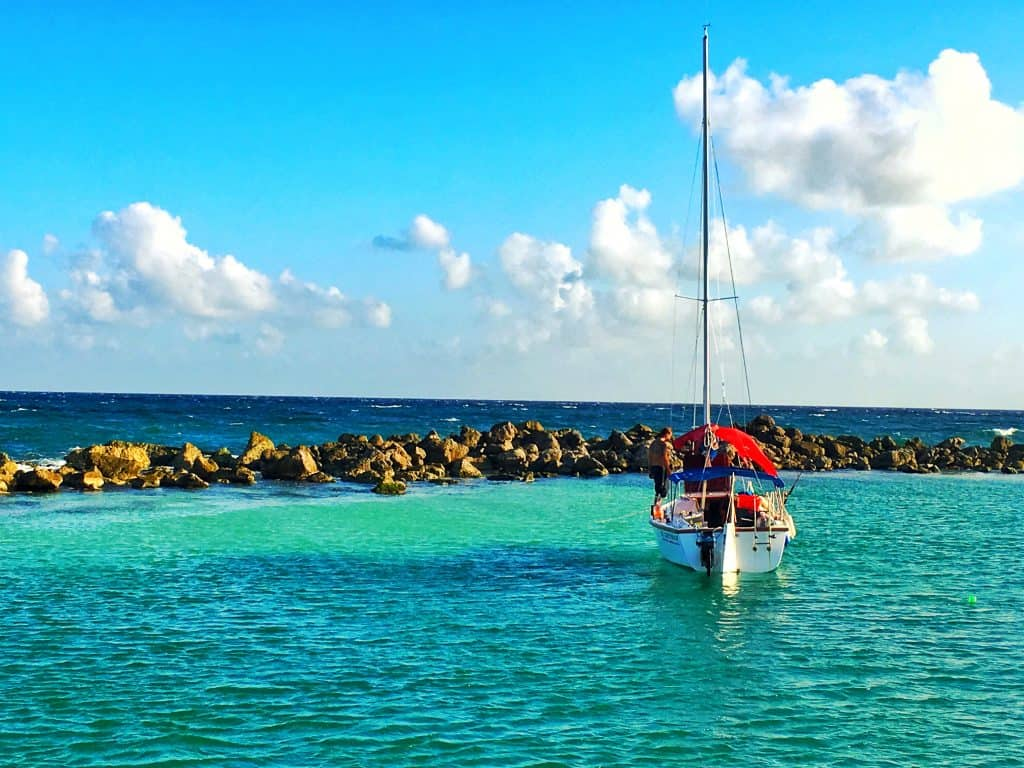 Excursions from Playa del Carmen catamaran tour