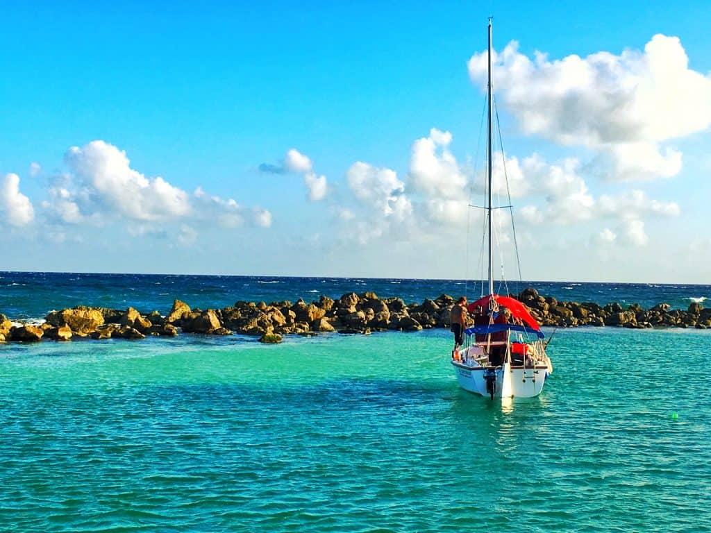 Excursions from Playa del Carmen catamaran tour