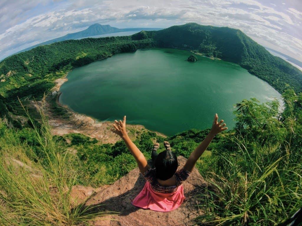 Best hiking in Asia Taal Volcanoe