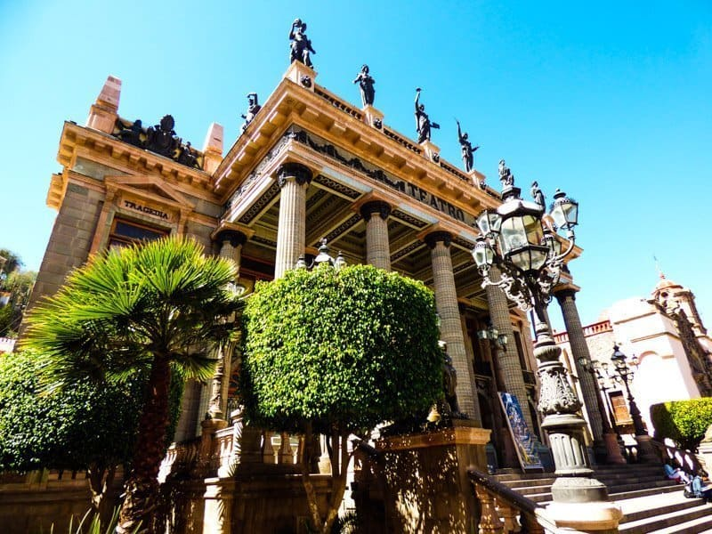Things to do in Guanajuato Teatro Juarez